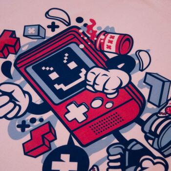 T-shirt Game Boy